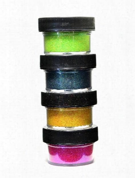 Ultrafine Transparent Glitter Mimosa 1 2 Oz. Jar