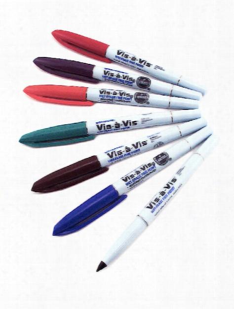 Vis-a-vis Markers Black