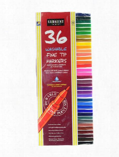 Washable Felt Tip Marker Sets Set Of 36