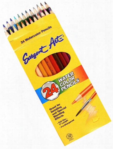 Watercolor Pencils 24 Count