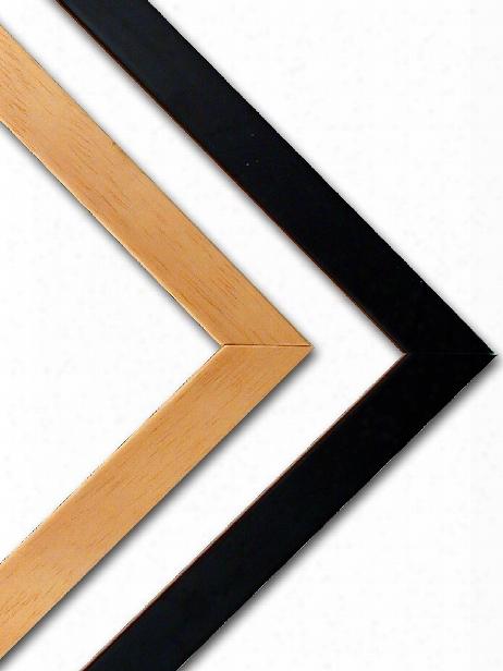 Wood Frame Kits Black 17 In.