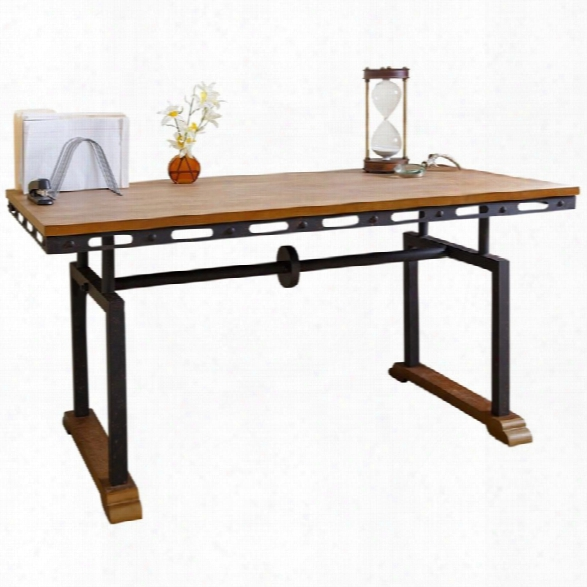 Abbyson Living Computer Desk In Natural