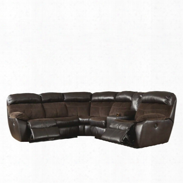 Ashley Berneen 2 Piece Sectional In Coffee