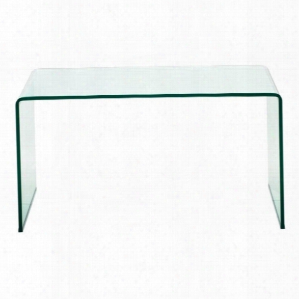 Zuo Caravan Desk In Clear