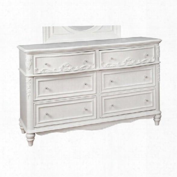 Coaster Caroline 6 Drawer Dresser In White