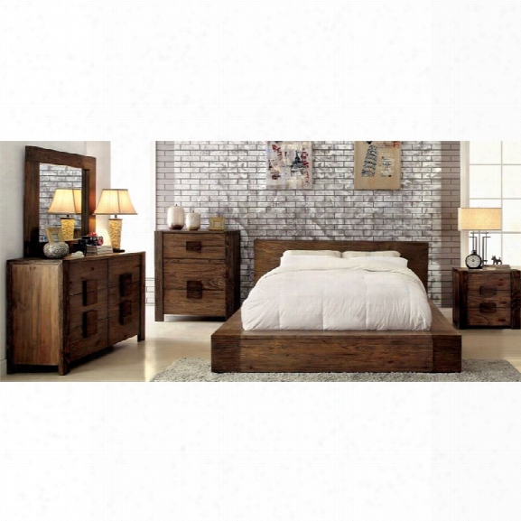 Furniture Of America Elbert 4 Piece California King Bedroom Set