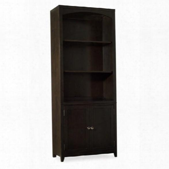 Hooker Furniture Kendrick 3 Shelf Bunching Bookcase In Brown
