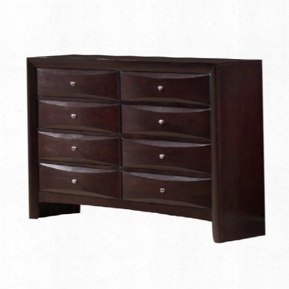 Picket House Furnishings Emily Dresser In Merlot