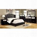 Furniture of America Harla 4 Piece California King Bedroom Set