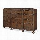 Paula Deen Home Dogwood 9 Drawer Dresser in Low Tide
