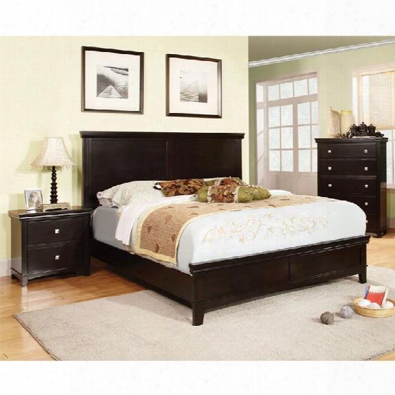 Furniture Of America Fanquite 3 Piece California King Bedroom Set
