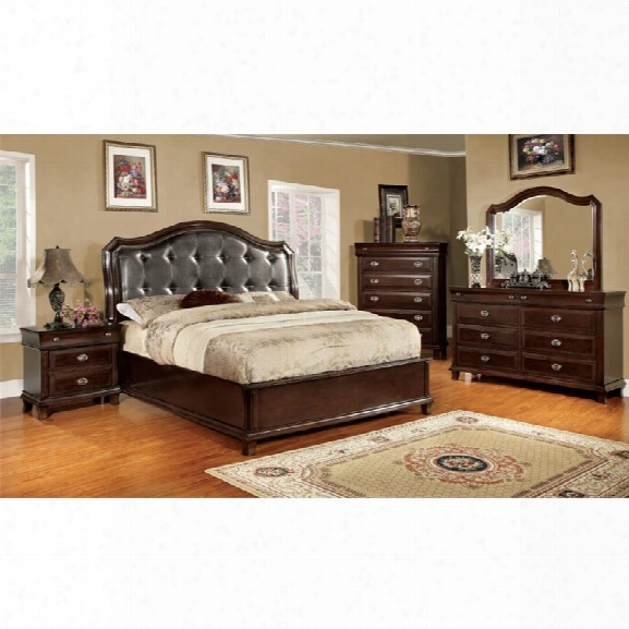 Furniture Of America Semptus 4 Piece California King Bedroom Set