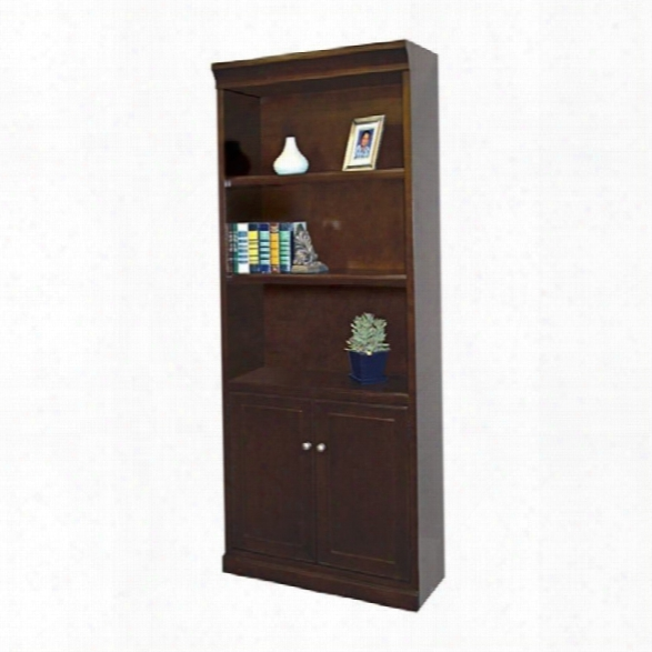 Kathy Ireland Home By Martin Fulton Lower Door Bookcase