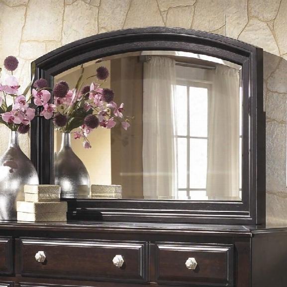 Ashley Ridgley Bedroom Mirror In Dark Brown