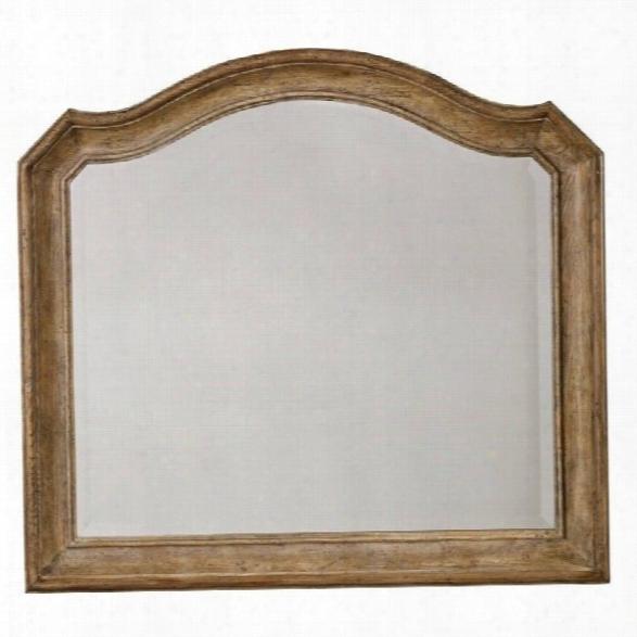 Hooker Furniture Solana Mirror In Light Oak