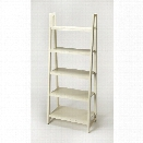 Butler Specialty Masterpiece 5 Shelf Bookcase in White