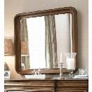 Universal Furniture New Lou Landscape Mirror in Cognac