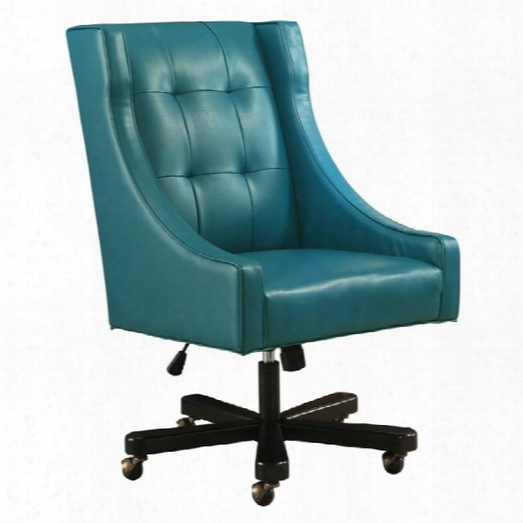 Abbyson Living Ryan Office Chair In Blue