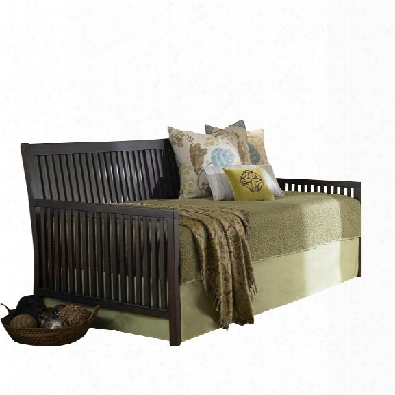 Fashion Bed Mission Daybed With Link Spring In Espresso