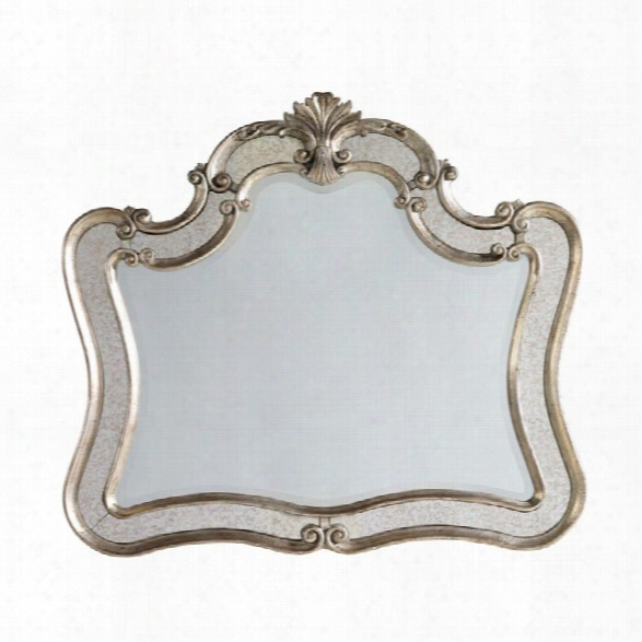 Hooker Furniture Sanctuary Shaped Mirror In Silver