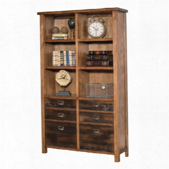 Martin Furniture Heritage Bookcase In Hickory