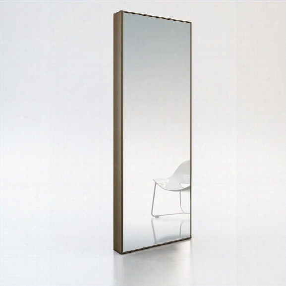 Modloft Greene Mirror In Walnut