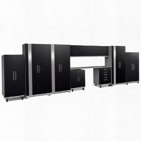 Newage Performance Plus 2.0 11 Piece Cabinet Set In Black