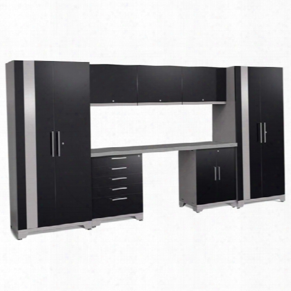 Newage Performance Plus 2.0 8 Piece Cabinet Set In Black