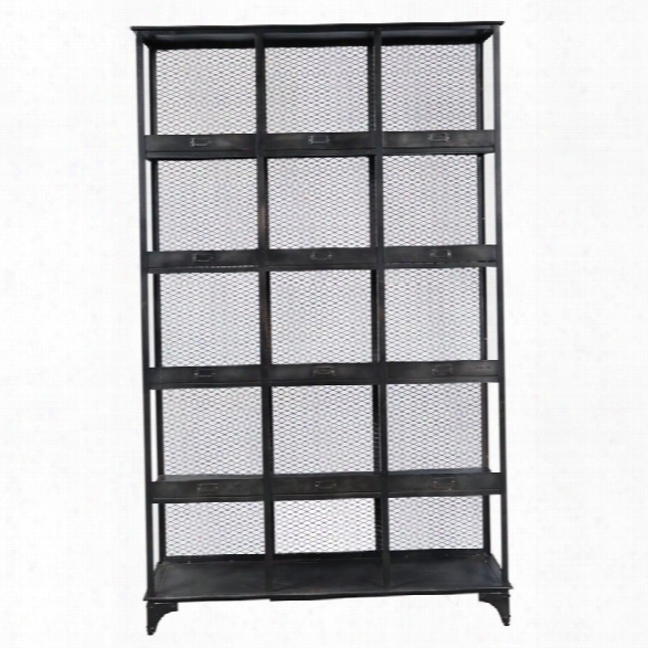 Pulaski Filmore 5 Shelf Etagere In Black