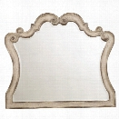 Hooker Furniture Chatelet Mirror in Distressed Vintage White