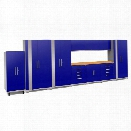 NewAge Performance Plus 2.0 11 Piece Cabinet Set in Blue