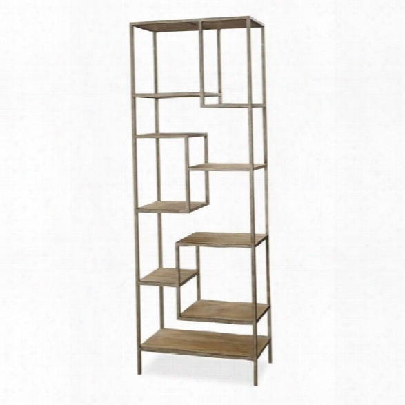 Universal Furniture Moderne Muse Bunching Etagere In Bisque