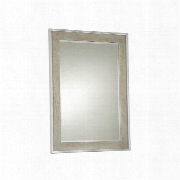 Universal Furniture The Spencer Bedroom Mirror In Gray Parchment