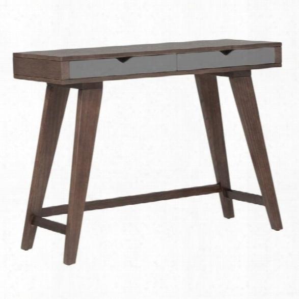 Eurostyle Daniel Console Table In Walnut
