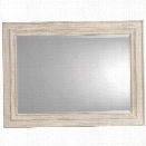 Hooker Furniture Sunset Point Landscape Mirror in Hatteras White