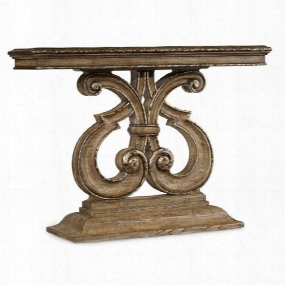 Hooker Furnitur E Solana Console Table In Weathered Oak