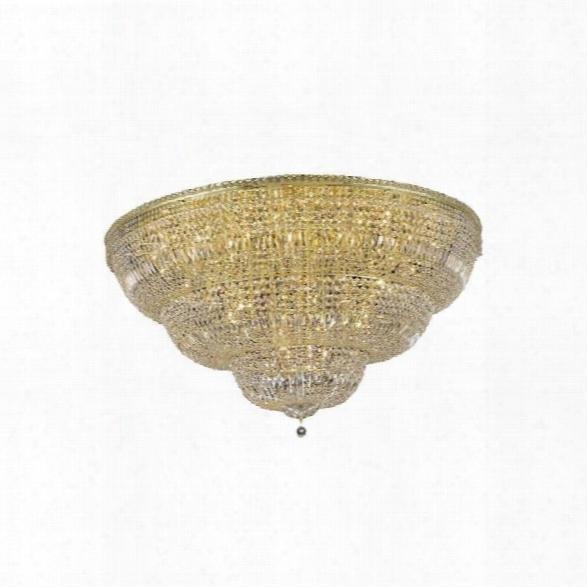 Elegant Lighting Tranquil 60 48 Light Elegant Crystal Flush Mount