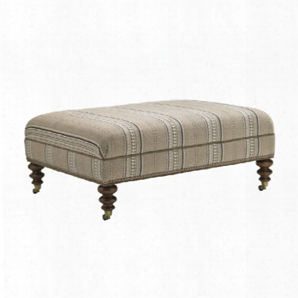 Lexington Coventry Hills Cooper Rectangular Ottoman In Tamarind