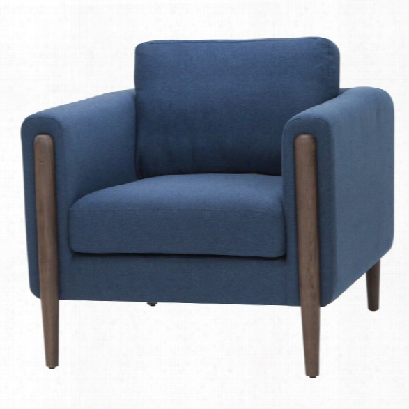 Nuevo Steen Accent Chair In Lagoon Blue