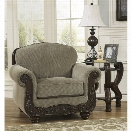 Ashley Martinsburg Chenille Chair in Meadow