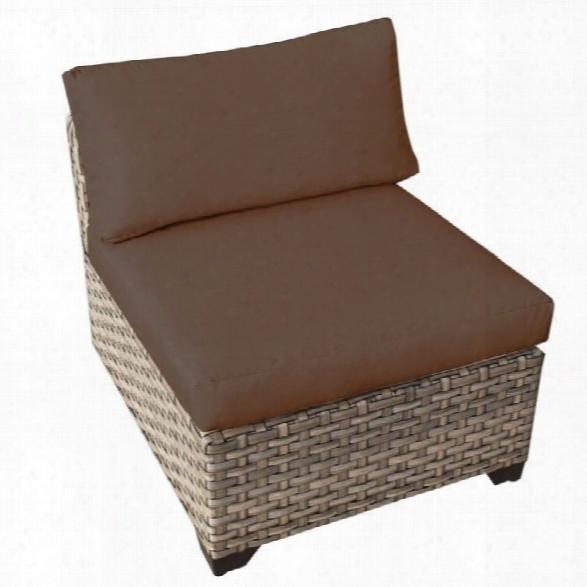 Tkc Monterey Outdoor Wicker Chair In Cocoa (set Of 2)