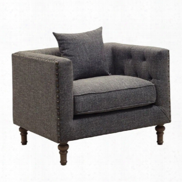Coaster Ellery Accent Chair In Gray