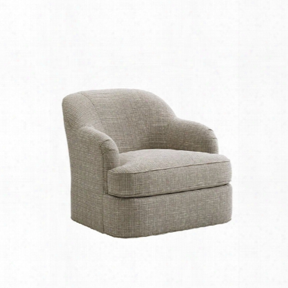 Lexington Laurel Canyon Alta Vista Swivel Accent Chair In Ivory