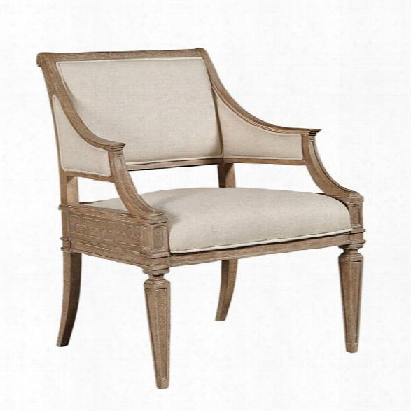 Stanley Furniture Wethersfield Estate Accent Chair In Brimfield Oak