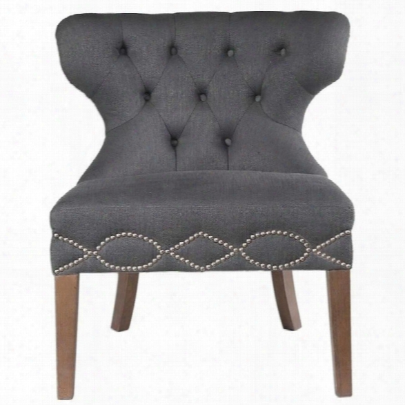 Uttermost Shafira Gray Armless Chair