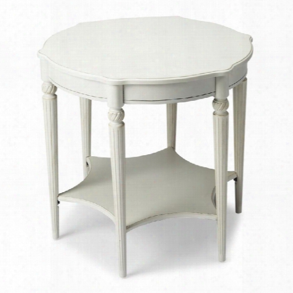 Butler Specialty Masterpiece Bainbridge End Table In Cottage White