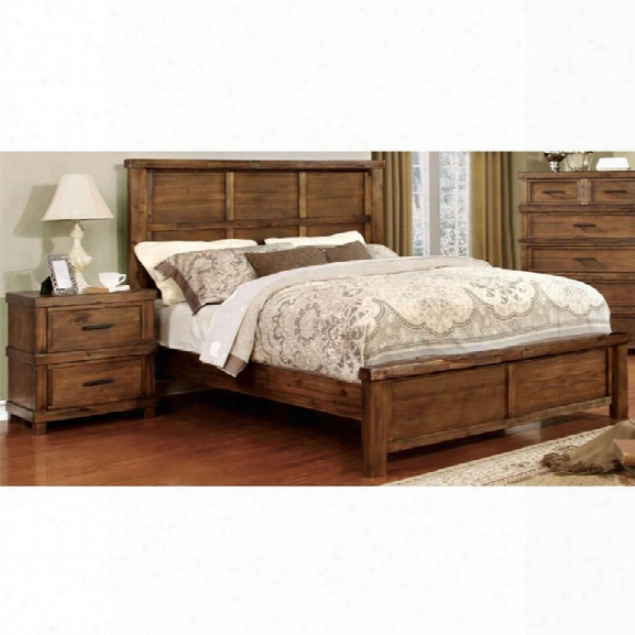 Furniture Of America Cynthia 2 Piece California King Panel Bedroom Set