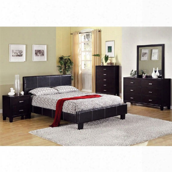 Furniture Of America Sentrium 4 Piece California King Bedroom Set