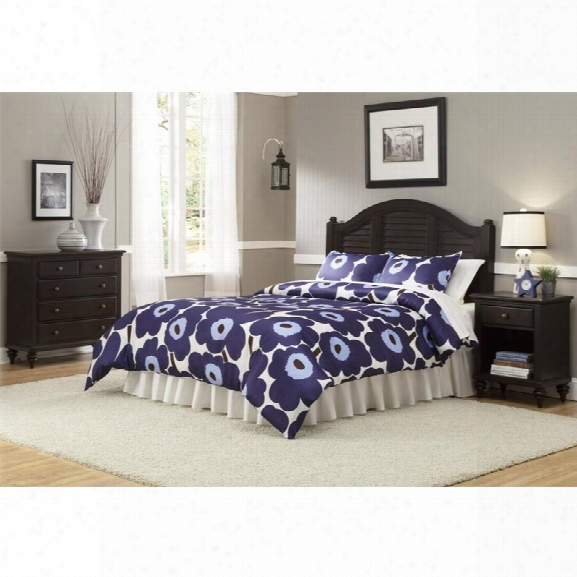 Home Styles Bermuda King Headboard With Nightstand And Chest