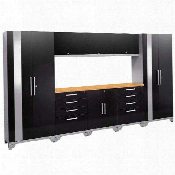Newage Performance 2.0 9 Piece Cabinet Set In Black